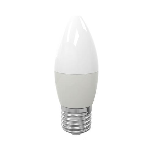 LED izzó 7 W E27 C37. Szín: meleg