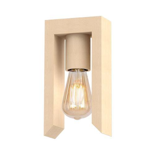Vincenzo fekete fali lámpa 1x E27