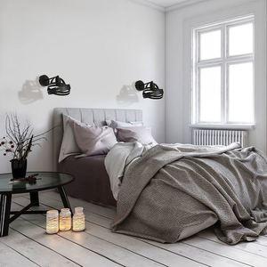 Fekete Corona Fekete 1x E27 fali lámpa small 1