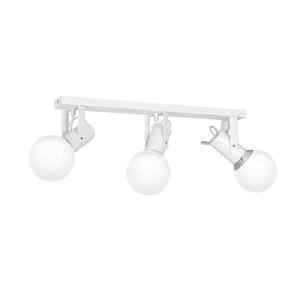 Auris fehér 3x E14 fehér mennyezeti lámpa small 0
