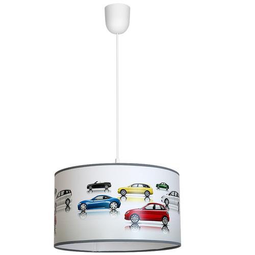 1x E27 többszínű autók függesztett lámpája
