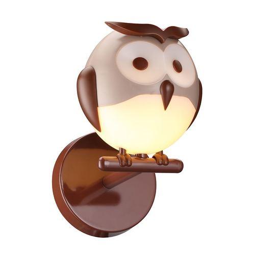 Fali lámpa Owl 1 Xg9 Led