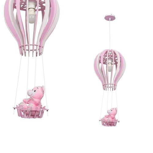 Lógó lámpa léggömb rózsaszín 1x E27 60 W