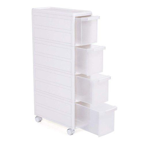 Segéd fürdőszobai szekrény kerekekkel KFR05W
