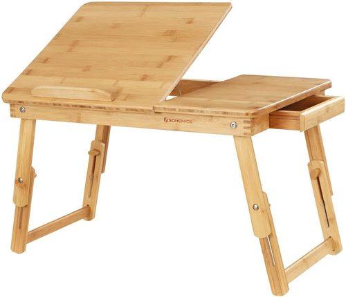 Többfunkciós összecsukható laptop asztal LLD01N Songmics