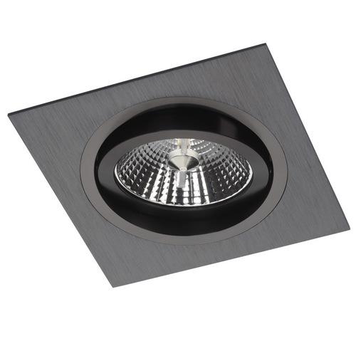 Fekete négyzet alakú levilágítás Alcazar 141.BB