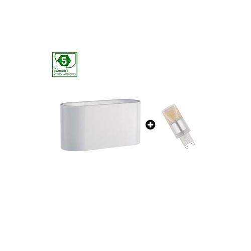 5 éves garanciális csomag: Squalla G9 White + Led G9 4w Ww (Slip006009 + Woj + 14433)