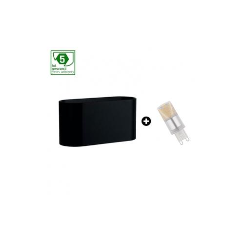 5 éves garanciális csomag: Squalla G9 Black + Led G9 4w Cw (Slip006010 + Woj + 14435)