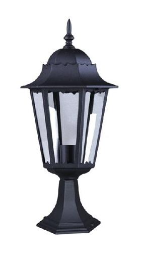 Alacsony kültéri K-5006S fekete álló lámpa a LOZANA sorozatból