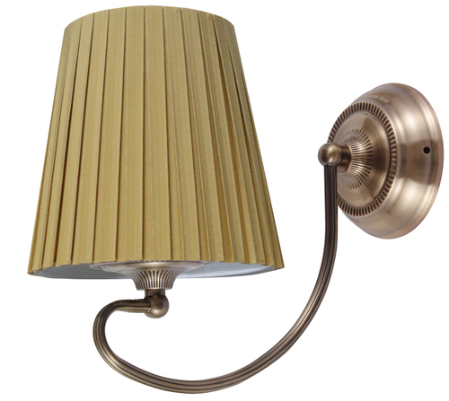 Mozart lámpa fali lámpa 1X60W E27 Patina rézméz