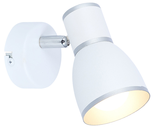 Fido lámpafal 1X40W E14 fehér + króm