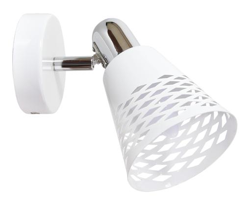 Discovery lámpa fali lámpa 1X40W E14 króm / fehér