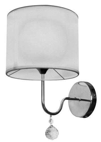 Brava lámpa fali lámpa D-22 1X60W E27 fehér