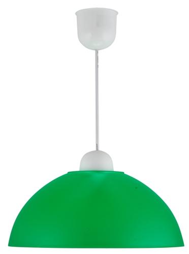 Mika Függőlámpa Műanyag E27 1X60W Zöld Promóció