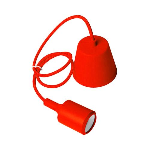 Mennyezeti lámpa Moderna E27 60W piros