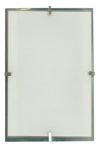 Frena mennyezeti lámpa Plafond 40X20 2X60W E27 szatén