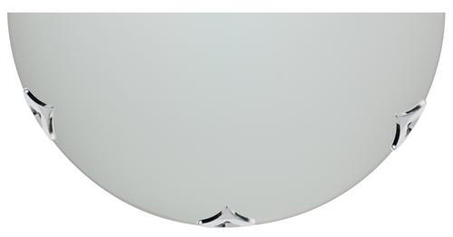 Sara mennyezeti lámpa Plafon1 / 2 300 króm / szatén 1X60W