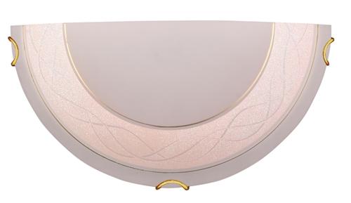 Lora mennyezeti lámpa Plafond 1/2 1X60W E27 rózsaszín