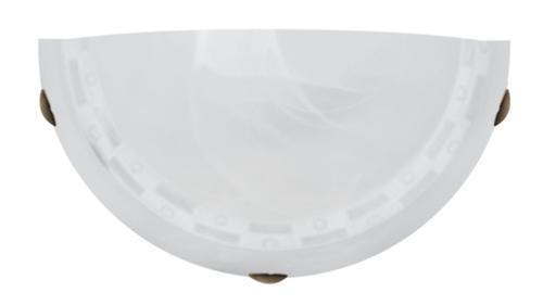 Milea mennyezeti lámpa Plafond 1/2 1X60W E27