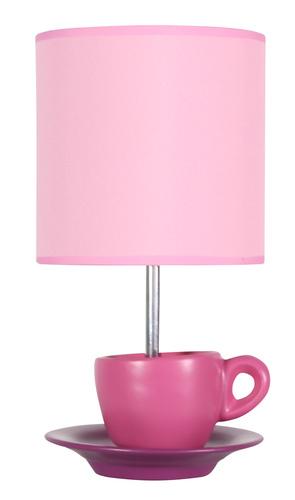 Cinkszekrény lámpa 1X60W E27 rózsaszín