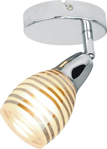 Jubilat lámpa fali lámpa 1X10W E14 vezetékes króm