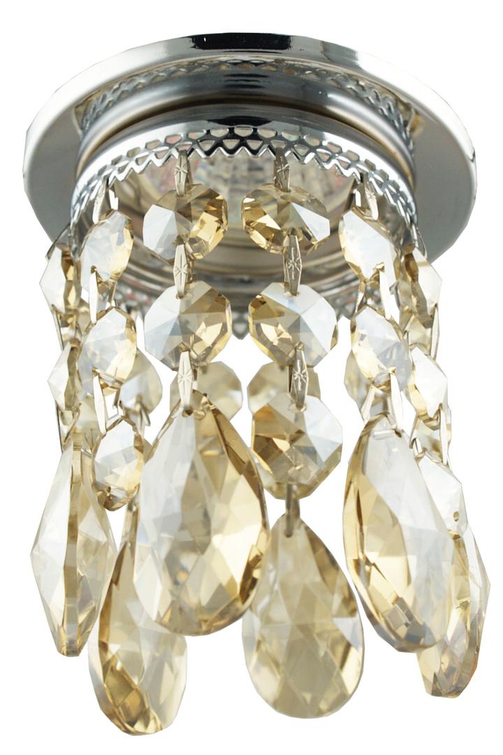 Sk-64 Ch / G Mr16 Krómozott mennyezetű dekoratív átlátszó arany Mr16 50W