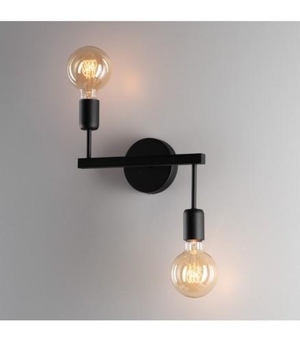 ALTA fali lámpa k-2 fekete