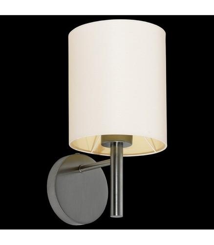 BACH fali lámpa nikkel / ecru
