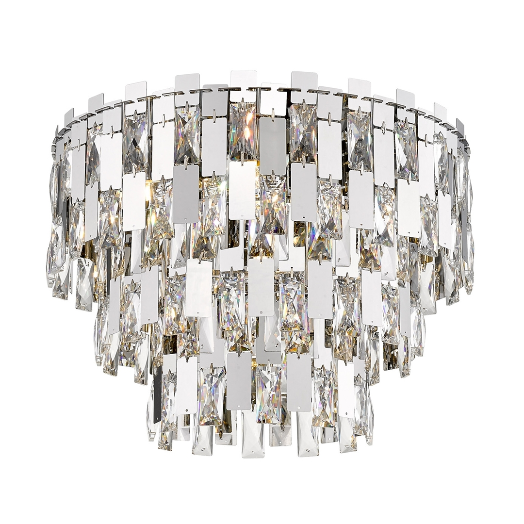 C0480 07 A B5 Ac Anzio mennyezeti lámpa króm