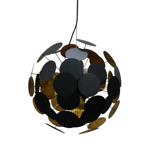 Ts 081111 P Bk Dots medál lámpa