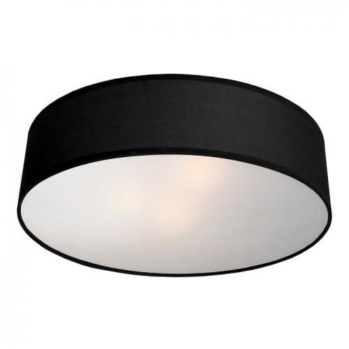 Klasszikus Plafond Alto kerek fekete