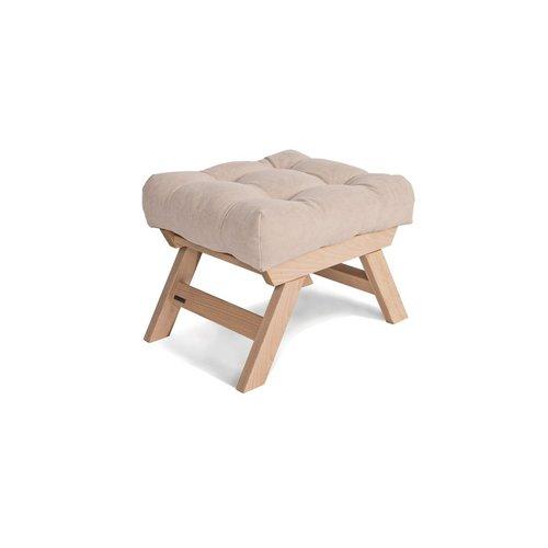 Allegro fából készült lábszék, nyers fa puding - krém