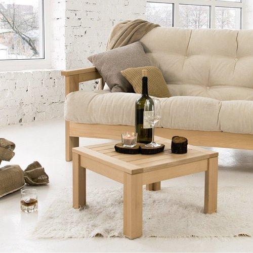 MEXICO kanapé olajozott fa (lenmagolaj) - krém