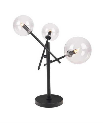 LOLLIPOP T0043 Asztali lámpa fekete Max