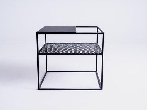 MATRIX METAL 50 dohányzóasztal - fekete
