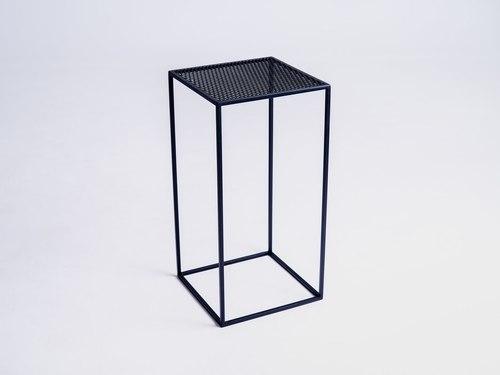 MATRIX METAL 30 dohányzóasztal - fekete