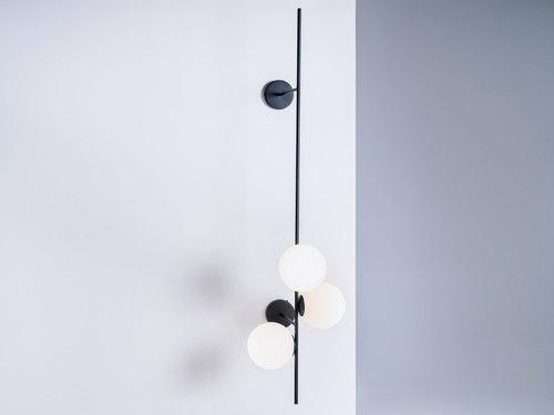 BOBLER 2connect fali lámpa - fekete