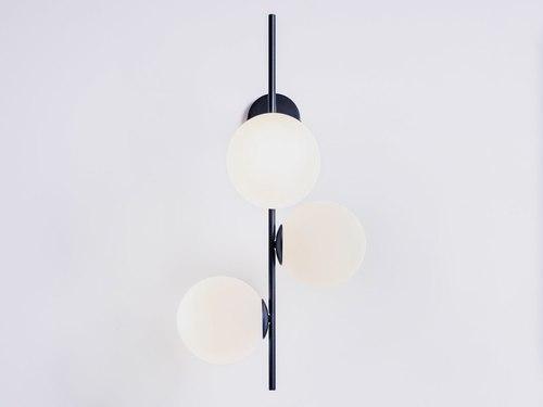 BOBLER 1connect fali lámpa - fekete
