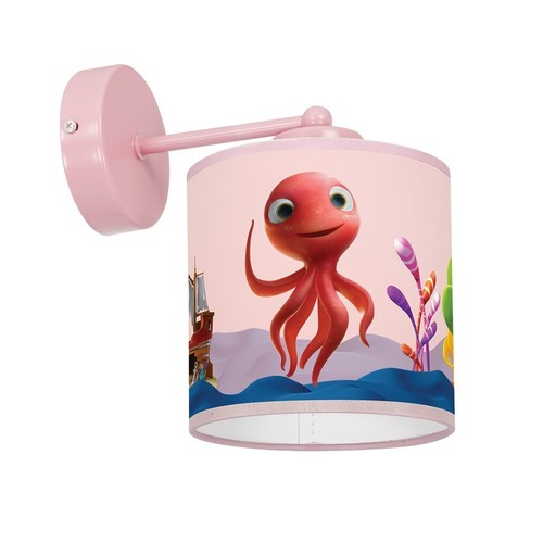 Fali lámpa Octopus Lola Mini 1x E27