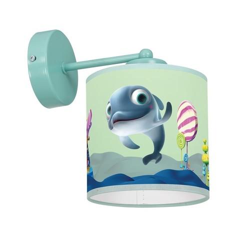 Fali lámpa Delfinka Finka Mini 1x E27