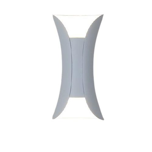 Kültéri fali lámpa Abigali White IP65 2x5W 3000K