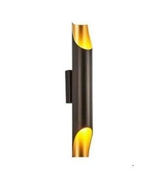 Fali lámpa Abigali Straight Gold