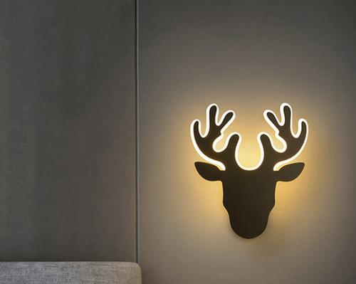 Falilámpa Deer Abigali Deer 2 Black