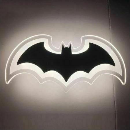 Abigali Batman LED Bat fali lámpa