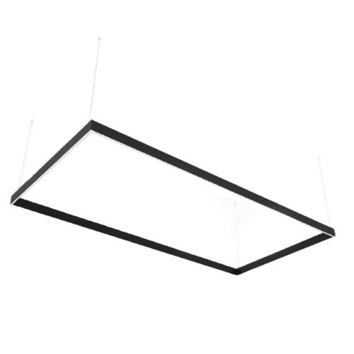 Lineáris LED lámpa Abigali Rectangle System kettős oldalsó téglalap 240x120