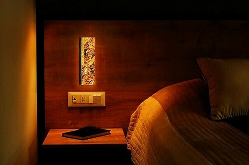 Fali lámpa Abigali 6616 márványkő 606R 6W 3000K