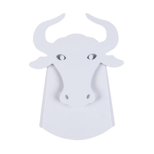 Fali lámpa Taurus Abigali Bull White