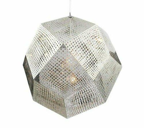 Függő lámpa FUTURI STAR króm 32 cm