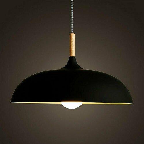 Függő lámpa SAUCER 45 cm fekete