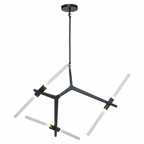 Függő lámpa STICKS-6 fekete